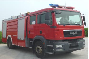 大型水罐消防車